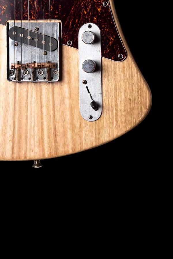 Guitarra Arnoia Detalle controles